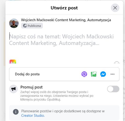 Klienci. JAk utworzyć Grupę Odbiorców na Facebooku